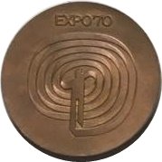 Official Medal - EXPO'70 – obverse