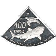100 Rupees – reverse