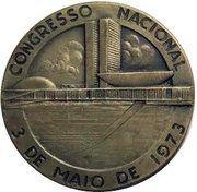 Medal - 200-Centenary of the Legislative Power of Brazil – obverse