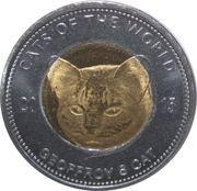 25 Shillings (Geoffroys cat) – reverse