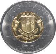 25 Shillings (Serval) – obverse