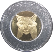 25 Shillings (Iberian lynx) – reverse