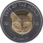 25 Shillings (Siamese) – reverse
