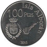 100 Pesetas – obverse