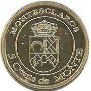 5 Céntimos – obverse