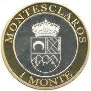 1 Monte – obverse