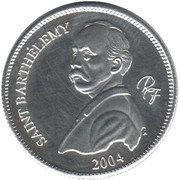 ¼ Euro (St. Barthelemy Euro Fantasy Token) – obverse