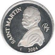 ¼ Euro (St. Martin Euro Fantasy Token) – obverse