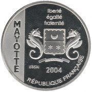1½ Euro (Mayotte Euro Fantasy Token) – obverse