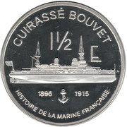 1½ Euro (Mayotte Euro Fantasy Token) – reverse
