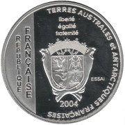 1½ Euro (French Southern & Antarctic Territories Euro Fantasy Token) – obverse