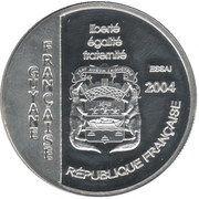 1½ Euro (French Guyana Euro Fantasy Token) – obverse
