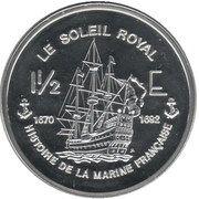 1½ Euro (French Guyana Euro Fantasy Token) – reverse