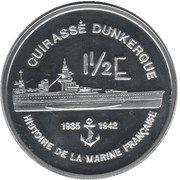 1½ Euro (Martinique Euro Fantasy Token) – reverse