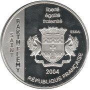 1½ Euro (St. Barthelemy Euro Fantasy Token) – obverse