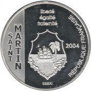 1½ Euro (St. Martin Euro Fantasy Token) – obverse
