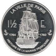 1½ Euro (St. Martin Euro Fantasy Token) – reverse