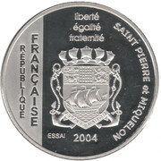 1½ Euro (St.Pierre & Miquelon Euro Fantasy Token) – obverse