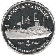 1½ Euro (St.Pierre & Miquelon Euro Fantasy Token) – reverse