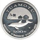 500 Francs (Tuamotu) – reverse