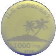 1000 Poa – obverse