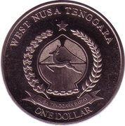 1 Dollar (Cethosia biblis) – obverse