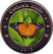 1 Dollar (Cethosia biblis) – reverse