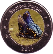1 Dollar (Spotted Purple) – reverse