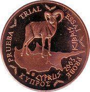 2 Cent (Cyprus Euro Fantasy Token) – obverse