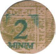 2 Minim – obverse