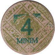 4 Minim – obverse