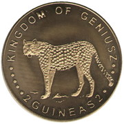 2 Guineas – obverse