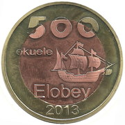 500 Ekueles – obverse
