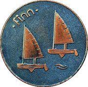 Medal - Olympic Games 1980 Moscow (Tallinn 80 - Finn; Estonia) – obverse