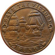 Save HMS Victory – obverse