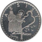 1 Marengo (Assisi) – obverse