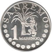 1 Marengo (Sanremo) – obverse