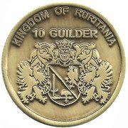 10 Guilder – obverse
