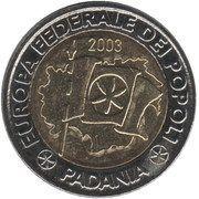 2 (Repubblica Federale di Padania) – reverse
