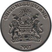 5 Kwacha (Chisumulu Island) – obverse