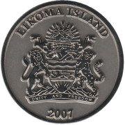 5 Kwacha (Likoma Island) – obverse
