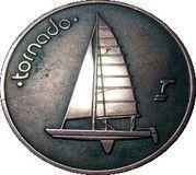 Medal - Olympic Games 1980 Moscow (Tallinn 80 - Tornado; Estonia) – obverse