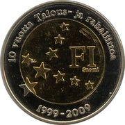 2 (Finland Euro Fantasy Token) – obverse