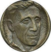 Medal - George Orwell – obverse