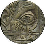 Medal - George Orwell – reverse