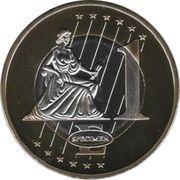 1 E (Vatican City Euro Fantasy Token) – reverse