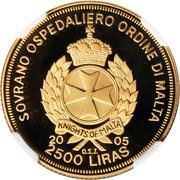 2500 Liras (Pope John Paul II) – obverse