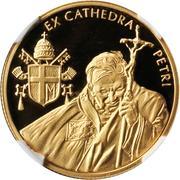 2500 Liras (Pope John Paul II) – reverse