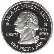 1 Peseta (Ponce) – obverse