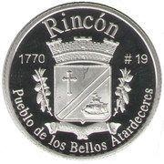 1 Peseta (Rincón) – reverse